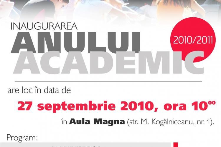 UBB Cluj ii primeste luni pe studenti in noul an universitar 2010-2011!