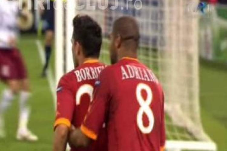 Gol Borriello! AS Roma - CFR Cluj 2-1 / VIDEO