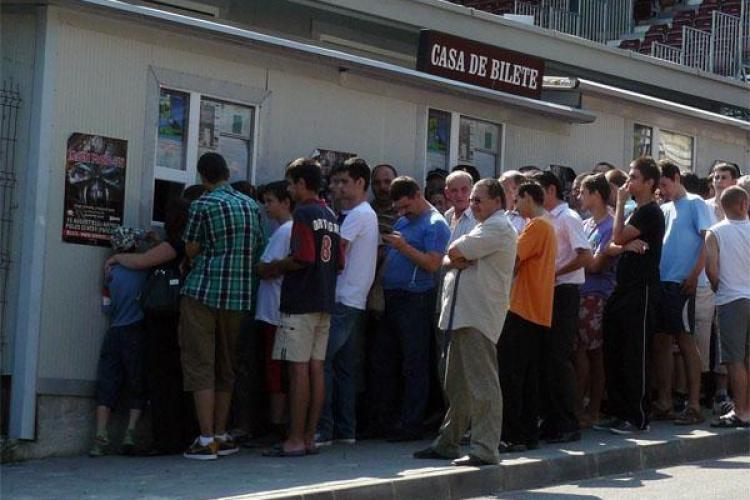 8.000 de bilete vandute la meciul CFR Cluj - Basel! VEZI cat costa un bilet!