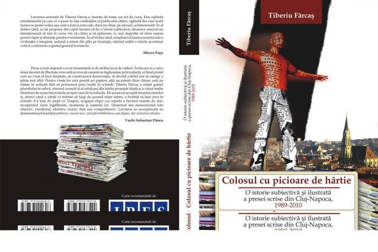 Istoria presei clujene, scrisa de Tiberiu Farcas, va aparea la mijlocul lunii octombrie