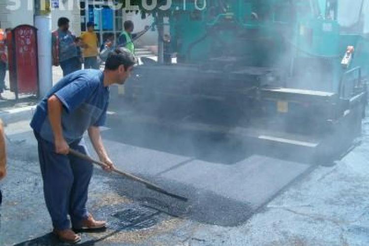 Strada Campului este inchisa pentru asfaltare!