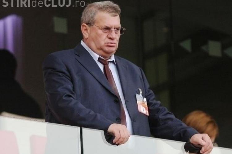 Muresan a plecat de la meci in minutul 75 de frica suporterilor de la U Cluj