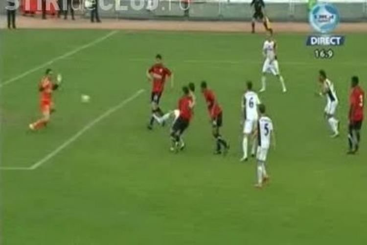 Vezi golul lui Michael Kubala - U Cluj - Gaz Metan Medias 1-3 / VIDEO