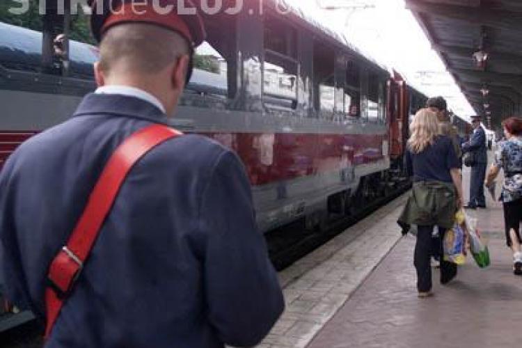 Bilete de tren mai scumpe cu 8% de miercuri