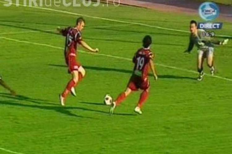 Bud a ratat singur cu Hutanu a ratat un gol ca si facut (min' 74) U Cluj - CFR Cluj