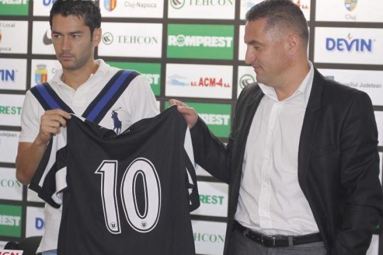 Alex Pacurar: U - CFR Cluj e ca Steaua-Dinamo