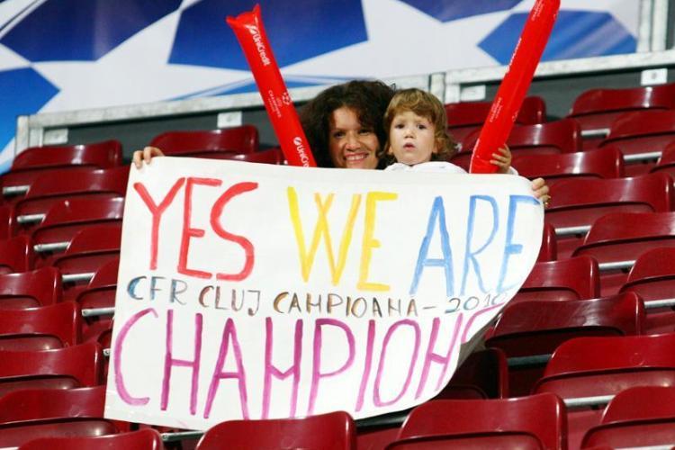 Copiii nu vor mai avea acces gratuit la meciurile CFR din Liga Campionilor, desi la primul meci stadionul a fost pe jumatate gol