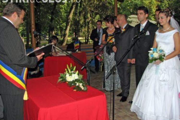 Casatoriile se fac din aceasta saptamana in sediul Primariei Cluj din Piata Unirii