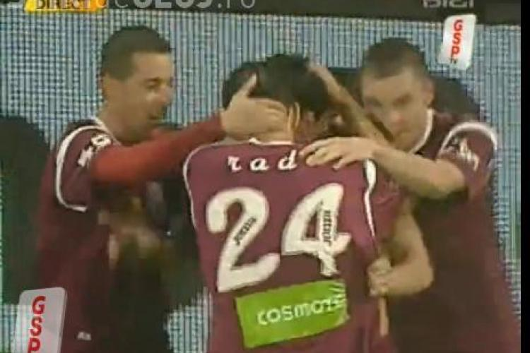 CFR Cluj ingenunchiata in 2 minute de FCM Targu Mures si aruncata in zona retrogradarii - VIDEO