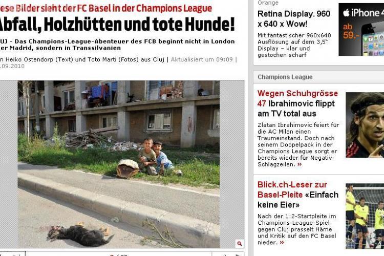 Blick a blocat comentariile la articolul care prezenta Clujul ca un oras din Africa, fara apa si curent