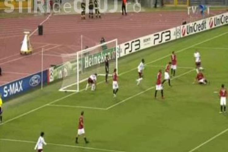 Gol Ionut Rada - AS Roma - CFR Cluj 1-2 / VIDEO