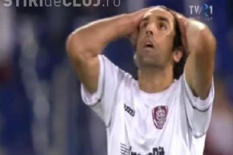 Culio a ratat o mare ocazie in minutul 7 din meciul cu AS Roma. Argentinianul a tras pe langa poarta - VIDEO