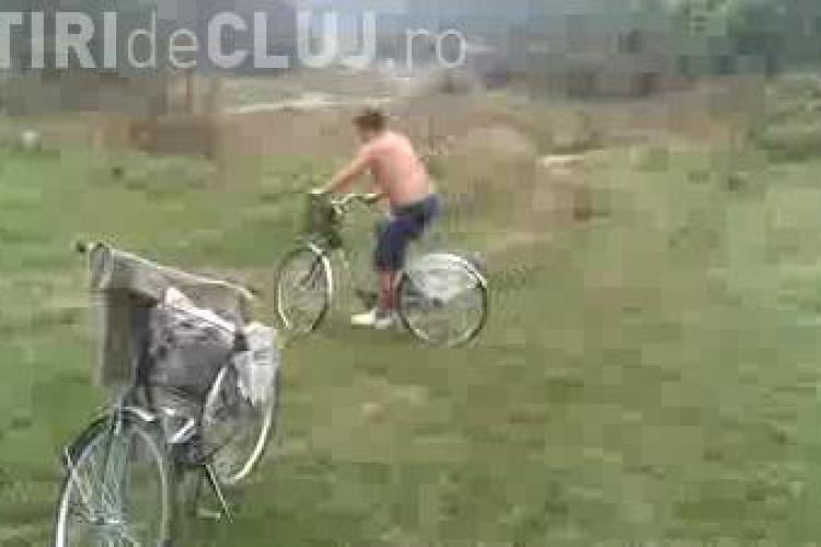 """Test drive prin Faget cu bicicletele din programul """"I Love Velo"""". Nu e de mirare ca jumatate sunt defecte - VIDEO"""