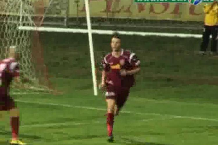 Gol Cristi Bud - ACU Arad - CFR Cluj 0-1 / VIDEO