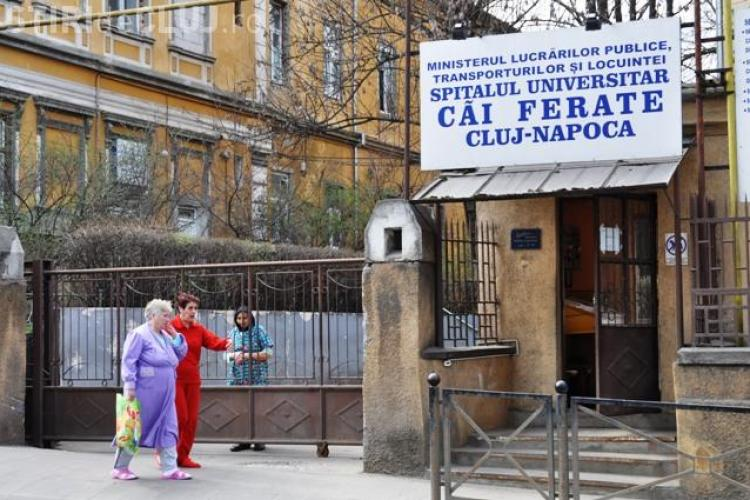 PNL și PSD se ceartă pe mormântul Spitalului CFR Cluj! Între timp, unitatea sanitară va intra în faliment