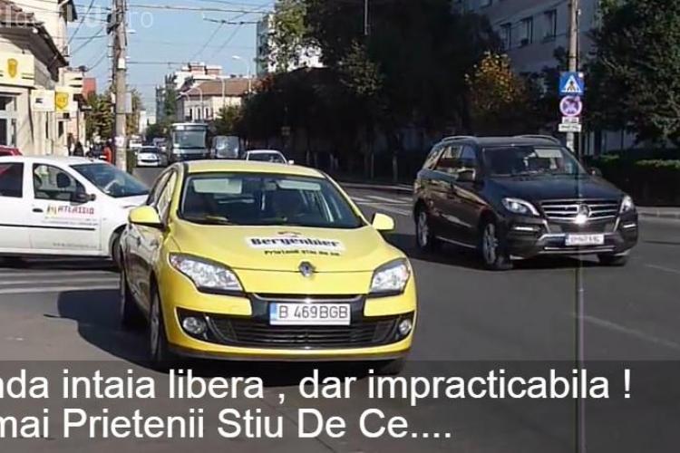 """Mașină de la Bergenbier parcată în Piața Abator de toată jena: """"Prietenii știu de ce!"""" - VIDEO"""