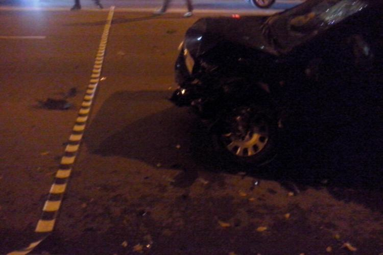 Accident grav lângă Iulius Mall! Un copil de 12 ani a fost lovit pe trecerea de pietoni