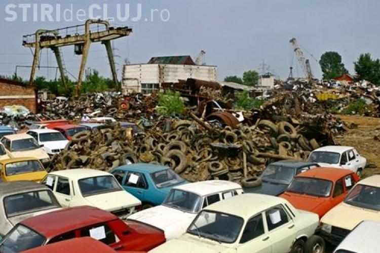 Clujean cercetat pentru abuz în serviciu! A colectat mașini la fier vechi fără să verifice dacă erau aduse de proprietari
