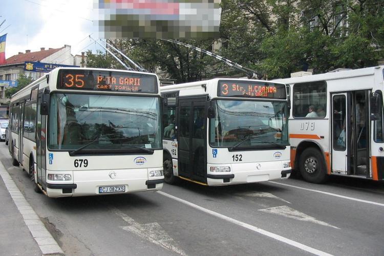 Cluj - Compania de Transport Public Cluj suplimentează numărul autobuzelor