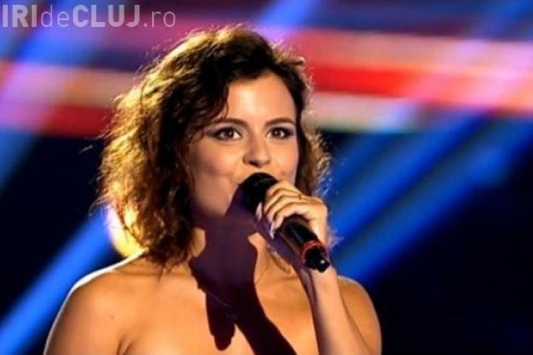 Ana Maria, senzația de la Vocea României, a fost bătută la Cluj de cântărețul Florin Chilian