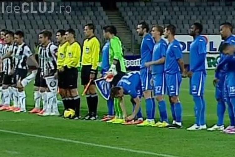Doru Bratu de la U Cluj l-a enervat George Ogăraru. Antrenorul l-a scos din echipă după câteva minute