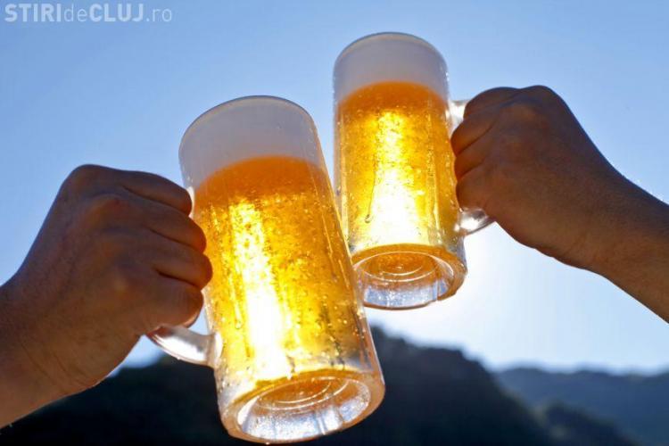 Scade consumul de bere în România! Jumătate din prețul unei beri merge la stat