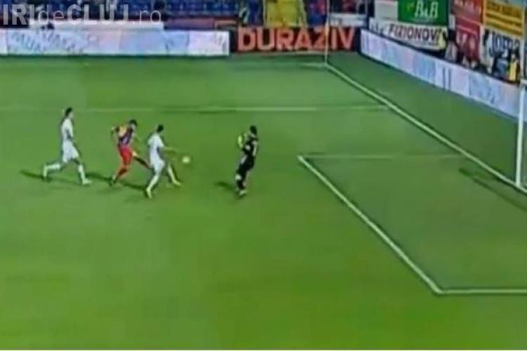 Târgu Mureș - CFR Cluj 2-0. REZUMAT VIDEO - Clujenii au fost învinși de un singur om