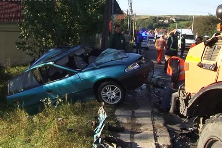 Accident TERIBIL în Feleac! Trei mașini implicate și multiple victime