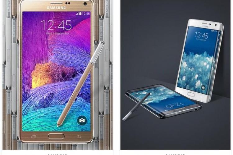Cât costă Galaxy Note 4 si Galaxy Edge în România