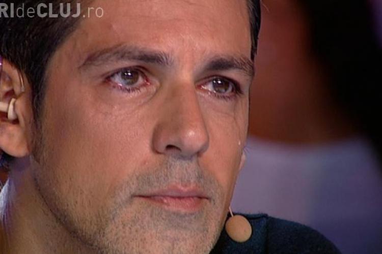 X FACTOR - Stefan Bănică Jr. a izbucnit în lacrimi