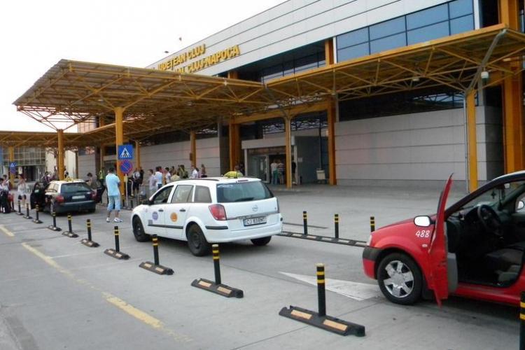 Aeroportul Cluj a sesizat Poliția în cazul taximetriștilor care practică prețuri mai mari