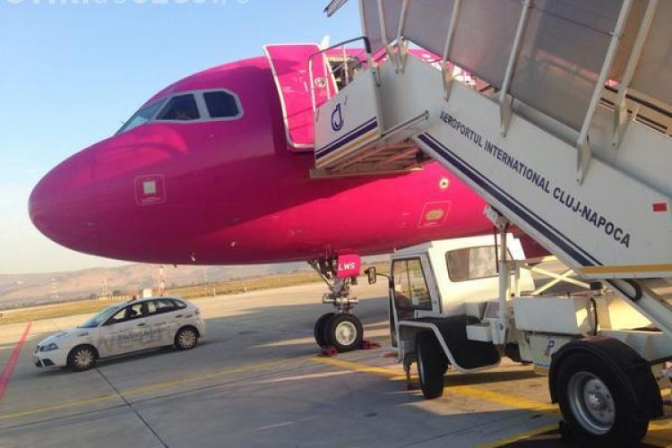 Aeroportul Cluj a inaugurat azi un zbor nou