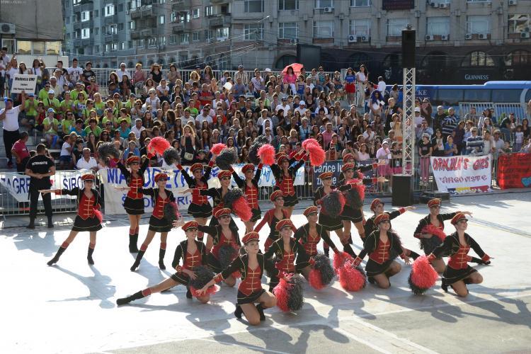 Majoretele din Cluj, campioane europene la toate categoriile de vârstă