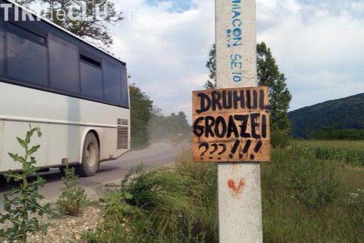 Seplecan: De luni începe asfaltarea drumului județean Gherla - Fizeșu Gherlii - Țaga