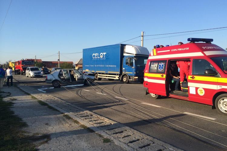 Accident rutier la Nima. Patru oameni au ajuns în spital - FOTO