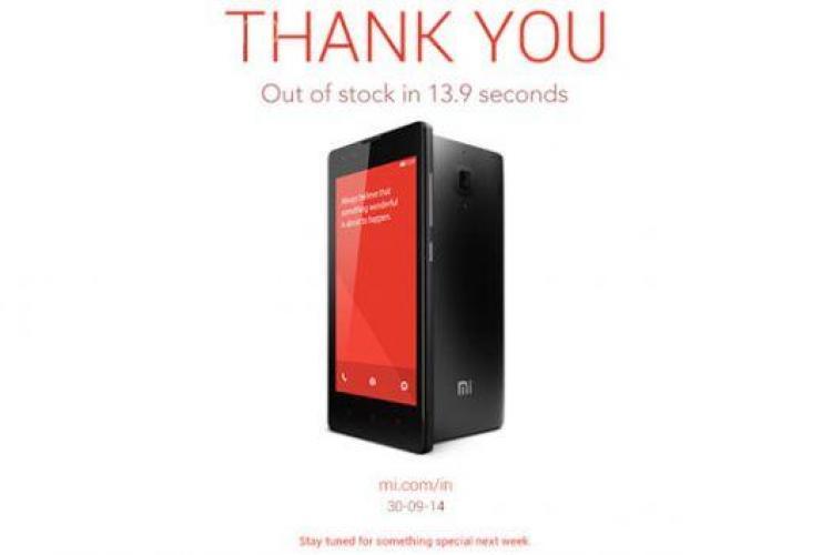 Record de vânzări pentru un smartphone! Tot stocul a fost epuizat în mai puțin de 14 secunde