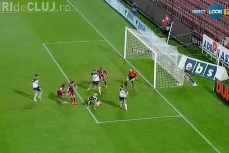 CFR Cluj - U Cluj 1-0 - VIDEO - Golul a venit cu 20 de secunde înainte de final