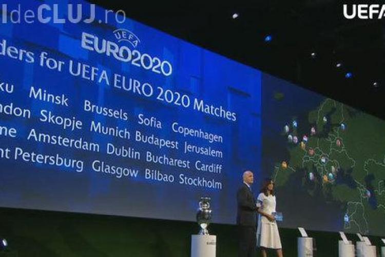 EURO 2020 se joacă și în Bucureşti, pe Arena Națională