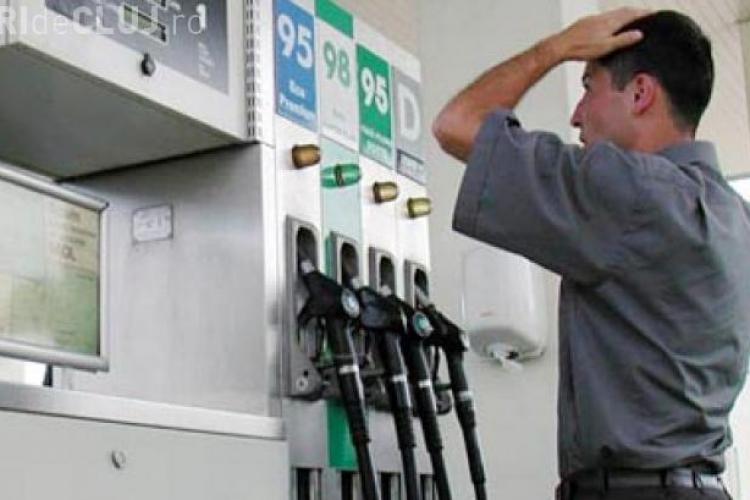Preţul petrolului scade, dar benzina e tot scumpă