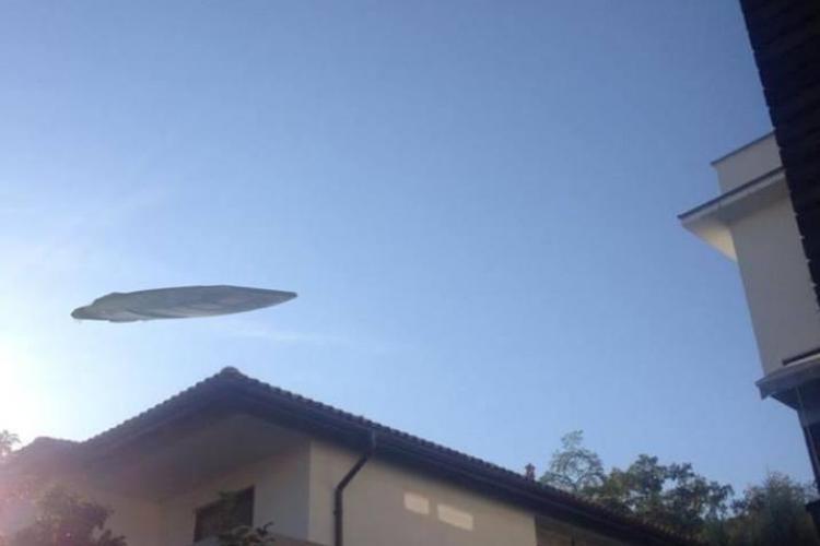 Fenomen straniu fotografiat pe cerul Clujului sau Photoshop: Ce e asta? - FOTO