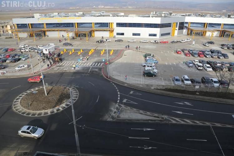 Sensul giratoriu de la Aeroportul Cluj e subdimensionat! Ce se mai poate face acum?