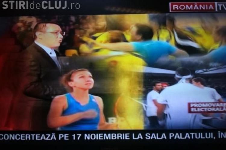 Ponta are clip electoral în care apar Simona Halep și Arnold Schwarzenegger