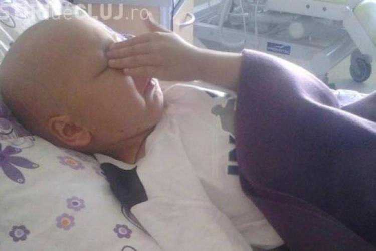 Un copil diagosticat cu cancer are nevoie de AJUTOR până nu e prea târziu