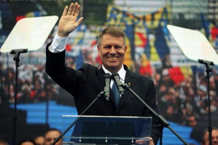 Miting ACL la Cluj! Klaus Iohannis este așteptat de 15.000 de simpatizanți. Va fi și un concert IRIS și Dumitru Fărcaș