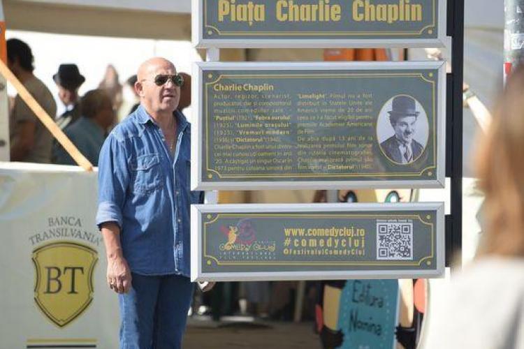 Cluj: Piața Unirii se va numi Piața Charlie Chaplin, iar Bulevardul Eroilor - B-dul Stan și Bran - FOTO