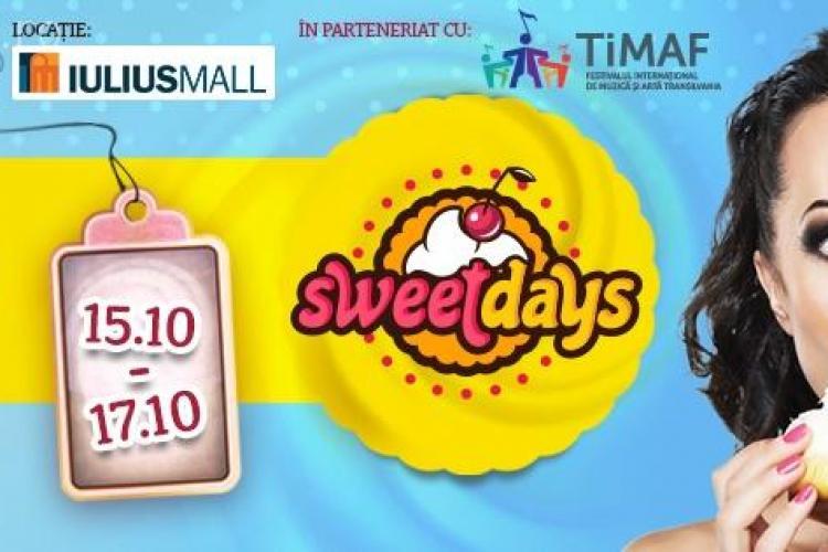 """Cea de-a treia ediție a târgului de dulciuri """"Sweet Days"""" are loc în această săptămână la Cluj"""