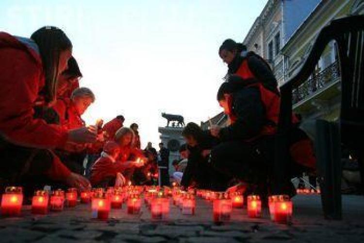 UN MILION DE STELE aprinse la Cluj din inimă