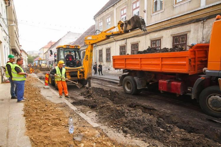 """Lucrările de execuție la proiectul """"Orașul Comoară"""" au început. Cum va fi afectat traficul FOTO"""