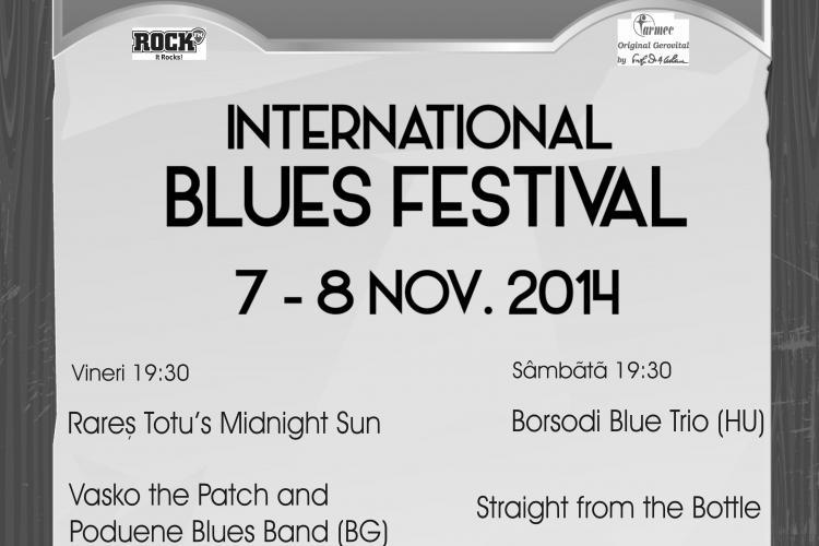 CLUJ BLUES FEST are loc în 7 - 8 noiembrie. VEZI ce concerte vor fi