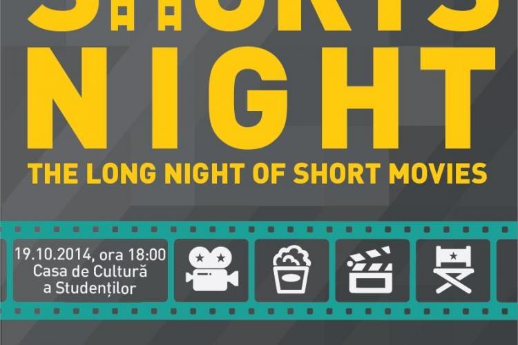 Shorts Night! Clujenii sunt invitați la o seară dedicată filmelor de scurt metraj